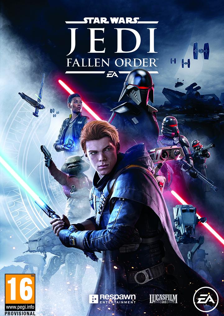 Les jaquettes officielles de Star Wars Jedi: Fallen Order dévoilées
