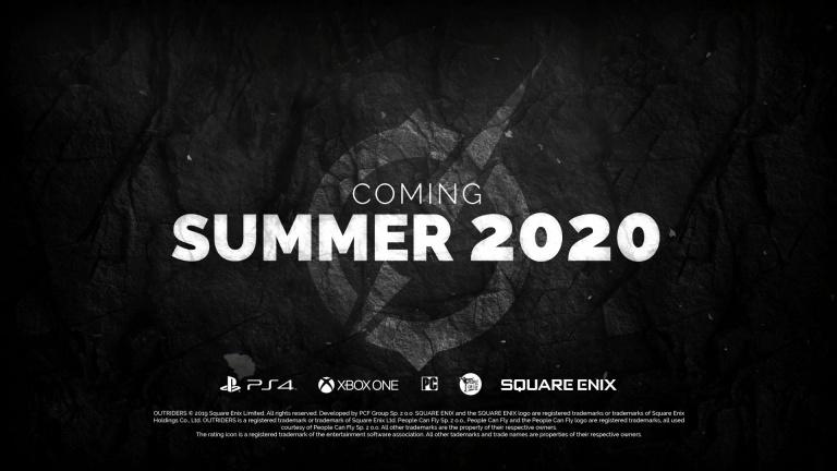 E3 2019 : Outriders arrivera durant l'été 2020