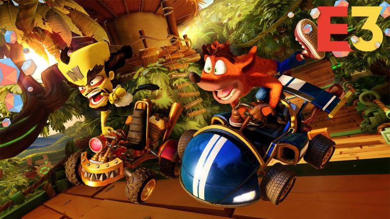 E3 2019 : Crash Team Racing Nitro-Fueled aura droit à du contenu saisonnier gratuit
