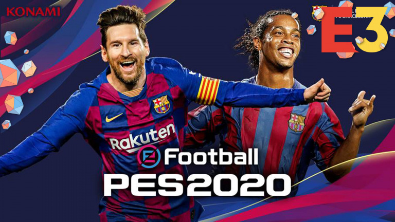 E3 2019 : Konami annonce eFootball  PES 2020