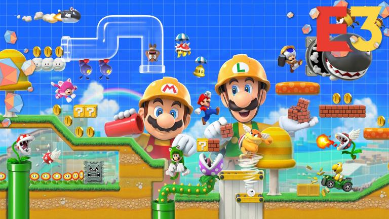 E3 2019 : Super Mario Maker 2 permettra finalement de jouer entre amis en ligne