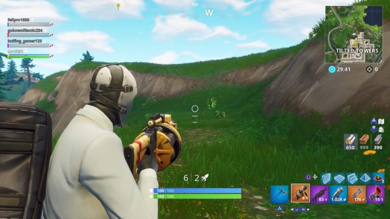 Fortnite, nouvelle arme : Lance-grenades de proximité, le guide