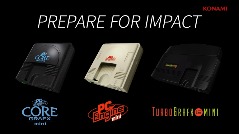 Konami annonce une PC Engine CoreGrafx Mini