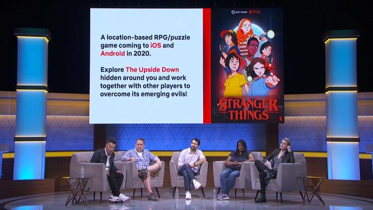 E3 2019 : Un nouveau jeu mobile Stranger Things annoncé par Netflix