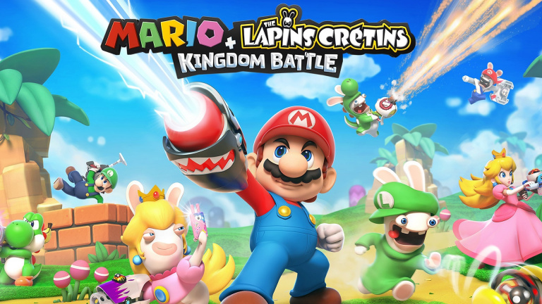 USA : Mario + The Lapins Crétins en tête des jeux tiers les plus vendus sur Switch