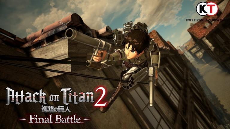 A.O.T. 2 : Final Battle - Koei Tecmo Europe annonce de nouvelles armes
