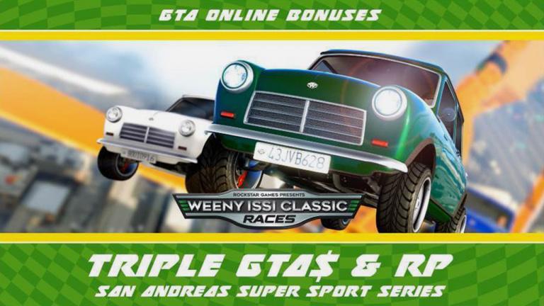 Grand Theft Auto Online chauffe la gomme dans des courses aux récompenses triplés
