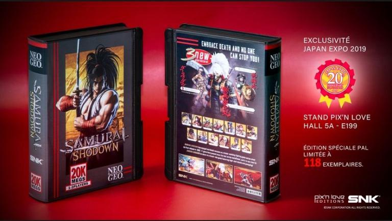 Samurai Shodown : Une édition ultra-limitée vendue à la Japan Expo