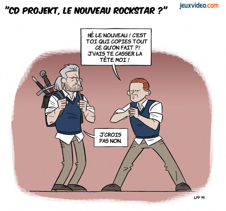 Billet : CD Projekt, le nouveau Rockstar ?