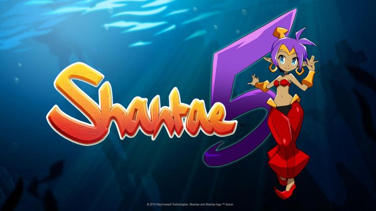 Shantae 5 : Studio Trigger (Kill la Kill) travaille sur la cinématique d'introduction