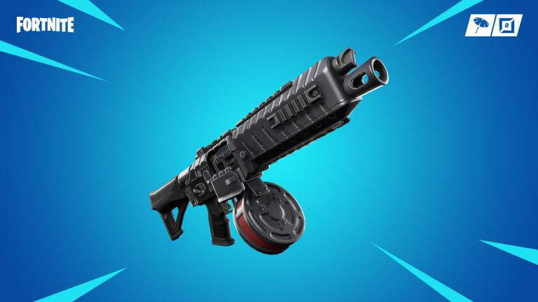 Fortnite, nouvelle arme : fusil à pompe à tambour, le guide