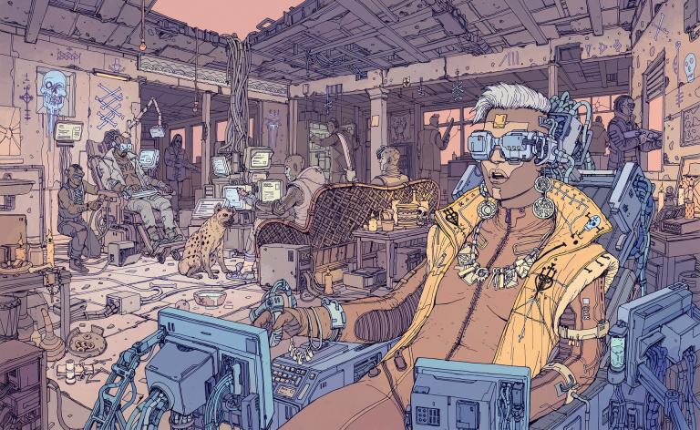 Cyberpunk 2077 dévoile quelques artworks