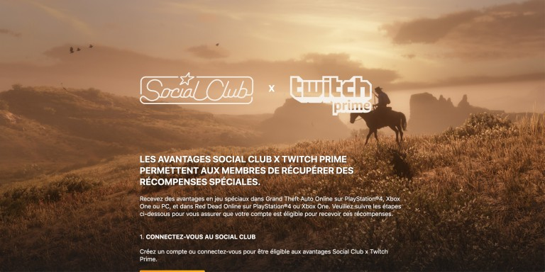 GTA Online, Red Dead Online : récompenses Twitch Prime, comment les obtenir
