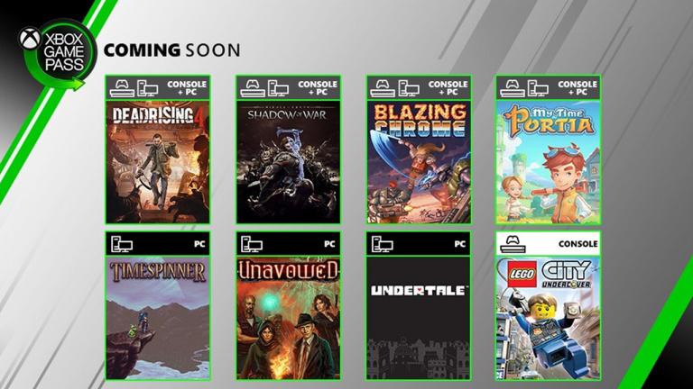 Xbox Game Pass présente les jeux du début du mois de juillet