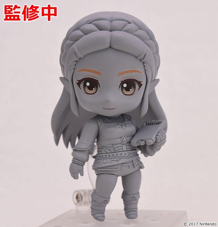 Breath of the Wild : le prototype de la figurine Nendoroid de Zelda dévoilé