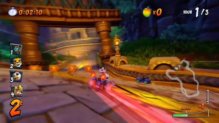 Crash Team Racing, pièces Wumpa : fonctionnement précis, astuces pour farmer