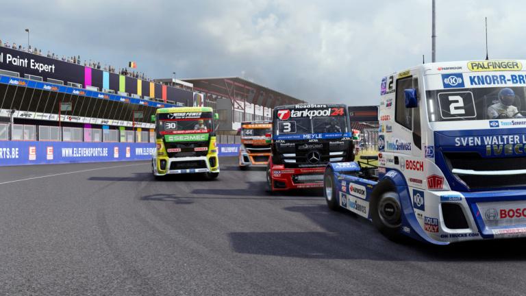FIA European Truck Racing Championship : les trophées et succès de la simulation de courses de camions
