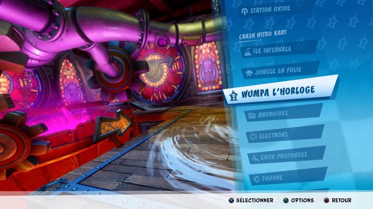 Crash Nitro Kart, lettres CTR, raccourci, astuces