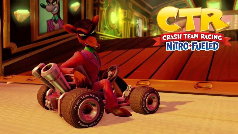 Crash Team Racing Nitro-Fueled, guide circuits Crash Nitro Kart : raccourcis, astuces, lettres CTR...