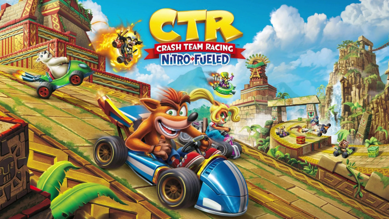 PlayStation Store : Crash Team Racing Nitro-Fueled a dominé les ventes en juin