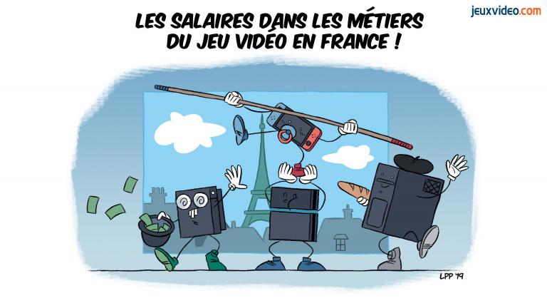Quels salaires pour les métiers du jeu vidéo en France ?