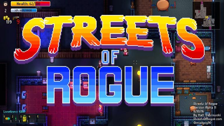Streets of Rogue : les trophées et succès du jeu d'aventure / RPG