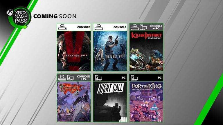 Xbox Game Pass : Metal Gear Solid V et Resident Evil 4 en approche
