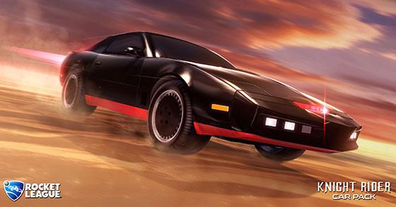 Rocket League : la voiture de K 2000 se met au sport