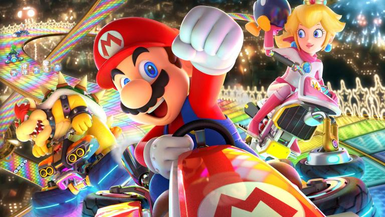 Mario Kart 8 Deluxe : Carapaces sous les cocotiers