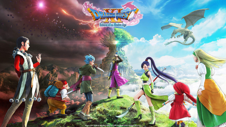 Nintendo Switch : une console collector aux couleurs de Dragon Quest XI S au Japon