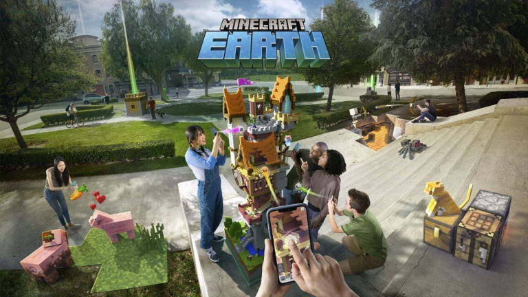 Minecraft Earth : la bêta fermée déjà disponible à Londres et à Seattle