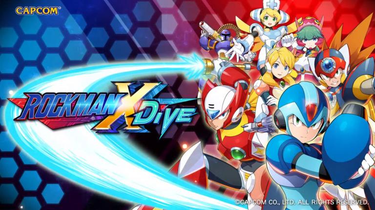 Mega Man X DiVE s'annonce sur nos appareils mobiles