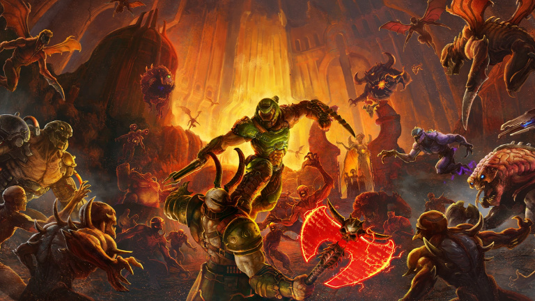 QuakeCon 2019 : Bethesda dresse le programme, Doom Eternal montrera son gameplay