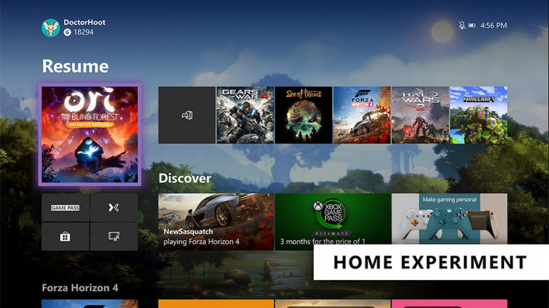 Microsoft présente une nouvelle interface sans Cortana — Xbox One
