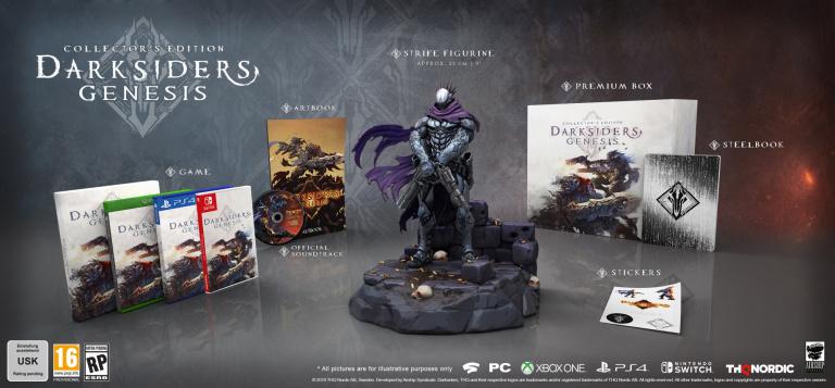 Darksiders Genesis : THQ Nordic dévoile les deux éditions collector