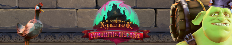 Le Donjon de Naheulbeuk : L'Amulette du Désordre se dévoile
