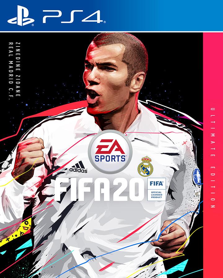 FIFA 20 : Zidane annoncé en tant qu'icône FUT et en couverture de l'édition Ultimate