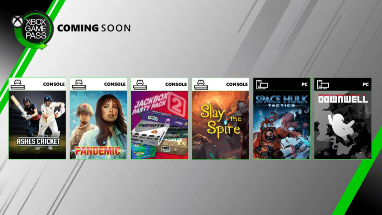 Xbox Game Pass : Slay the Spire, Downwell et quatre autres jeux en approche