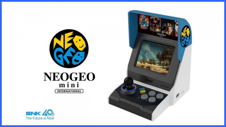 SNK annoncera un nouvel appareil Neo Geo prochainement