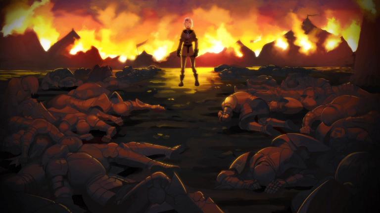 Chapitre 8 : Une flamme dans l'obscurité