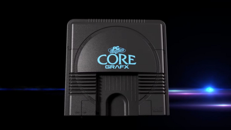 PC Engine CoreGrafx mini : le catalogue complet dévoilé par Konami