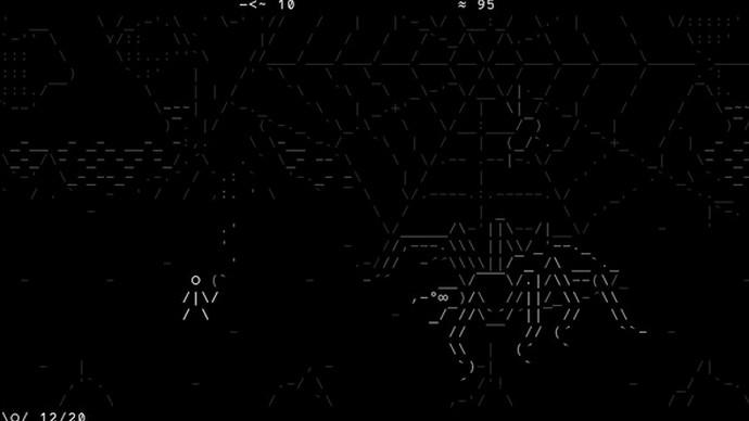 Stone Story RPG : un accès anticipé pour le jeu en ASCII art