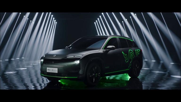 Razer s'associe avec Nio pour lancer une voiture Chroma RGB