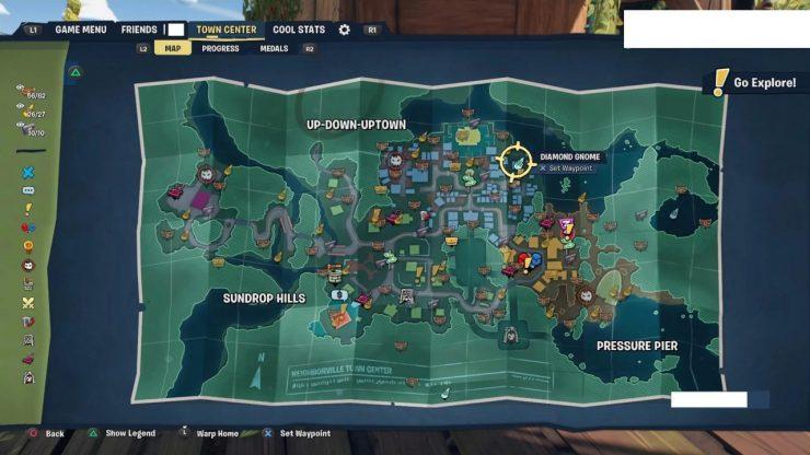 Plants Vs Zombies : Battle For Neighborville - La carte du jeu fuite également