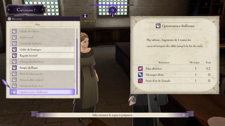 Fire Emblem Three Houses, pêche au monastère : le guide complet