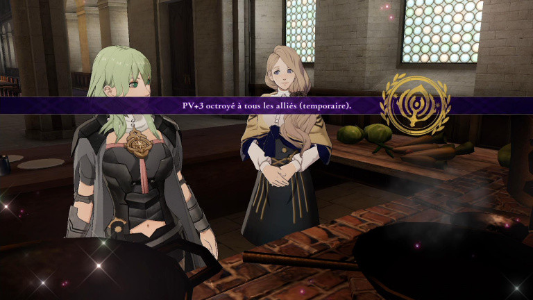 Fire Emblem Three Houses, cuisine : notre guide complet