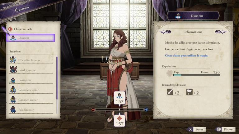 Fire Emblem : Three Houses, classe unique Danseur : comment la débloquer, avantages... Notre guide