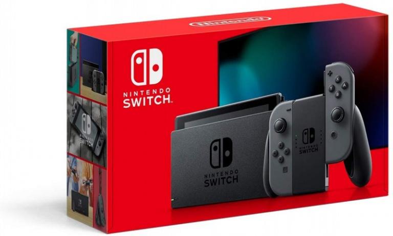 Nintendo Switch : Le packaging de la nouvelle version confirmé