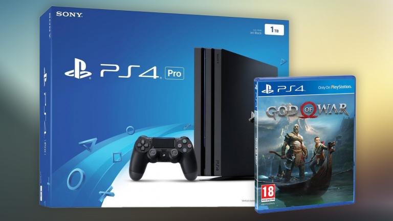 Pack PS4 Pro avec God Of War pour 340,23€ chez Amazon !
