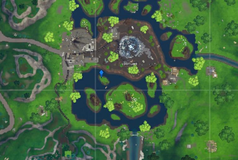 Fortnite, saison 10 : Visiter un mémorial du cube dans un lac et dans le désert, le guide